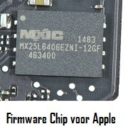 Firmware chip for Apple